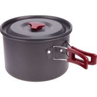 3L Capacity Oxidation Aluminium Alloy Single Pot Non-stick Camping Hiking Fishing Picnic Pot Outdoor Tableware Accessories