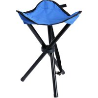 Outdoor Camping Chair Foldable Portable Stool Three-legged Stool for Camping Fishing Hiking Picnic Fishing Fold Chair 3 Colors