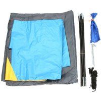 Windproof Waterproof Double Layer 2 person Tent Outdoor Hiking Camping Picnic Tent Professional Camp Tourist Tent High Quality