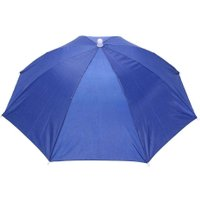 Foldable Umbrella Hat Outdoor Sun Shade Waterproof Camping Headwear Cap